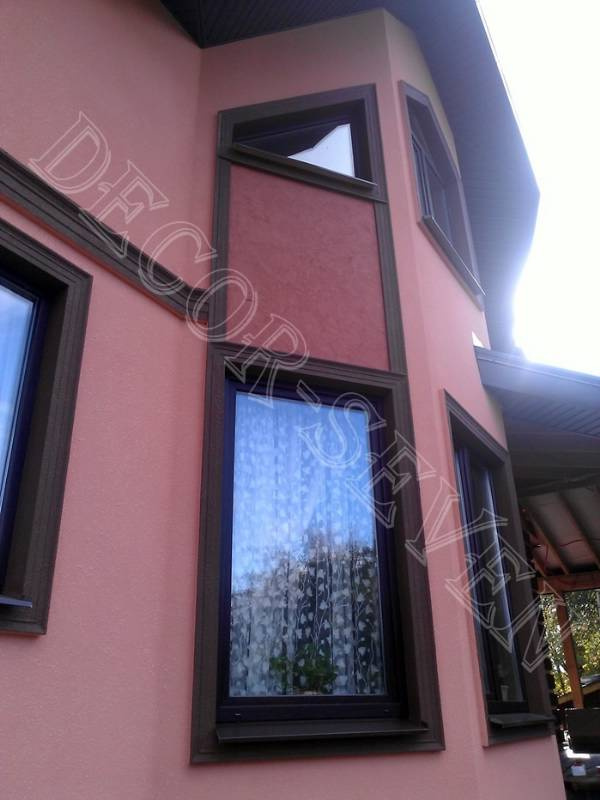 Фасады с отделкой из дагестанского камня